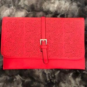 Handbags - Large hot pink clutch purse